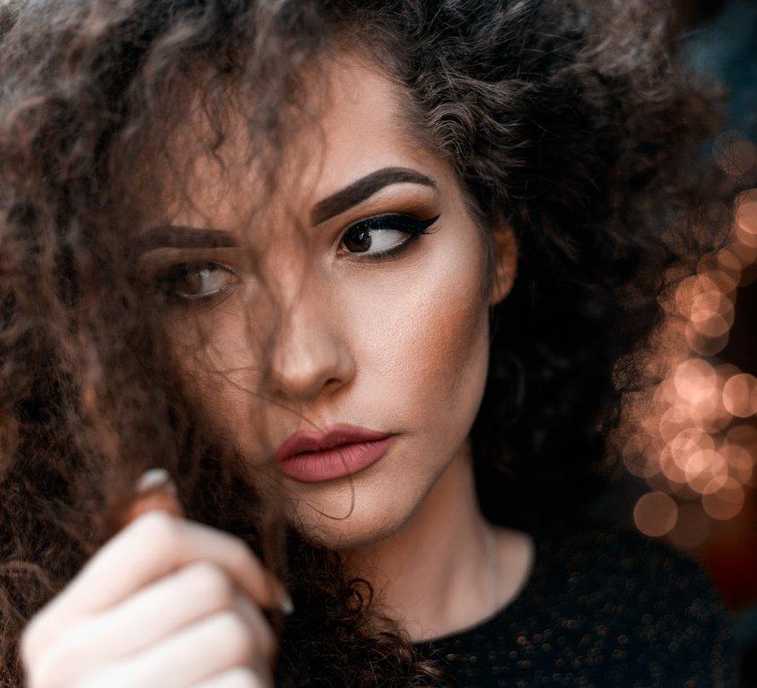 Portret modela